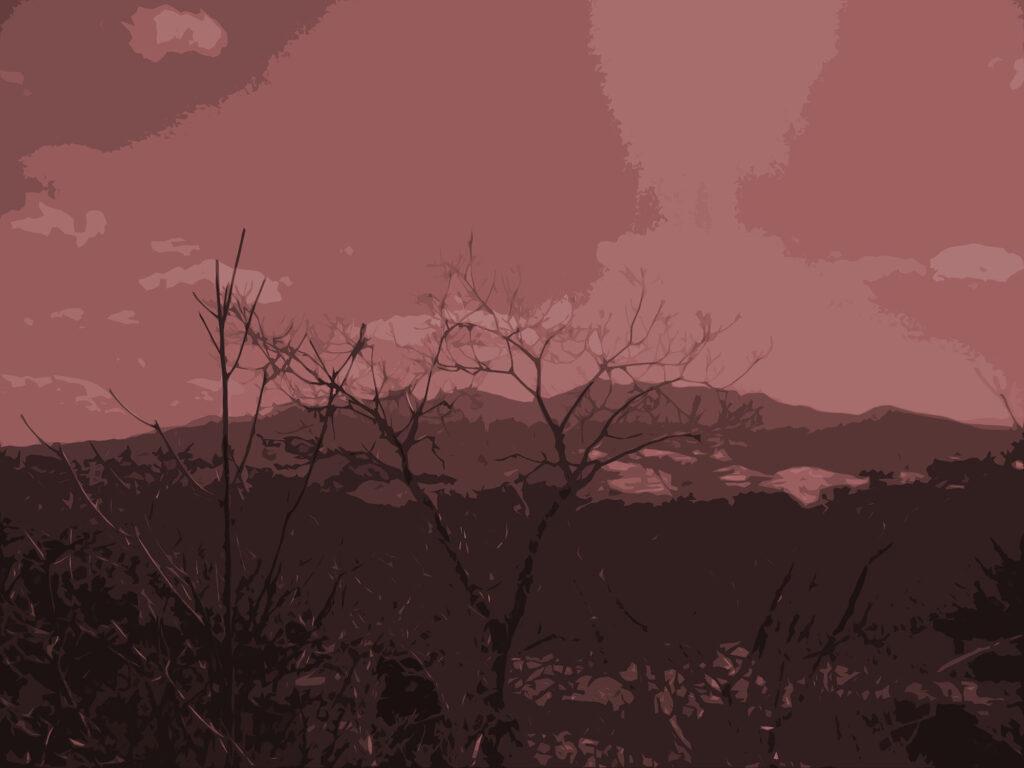 フリー素材背景【夕暮れの空】