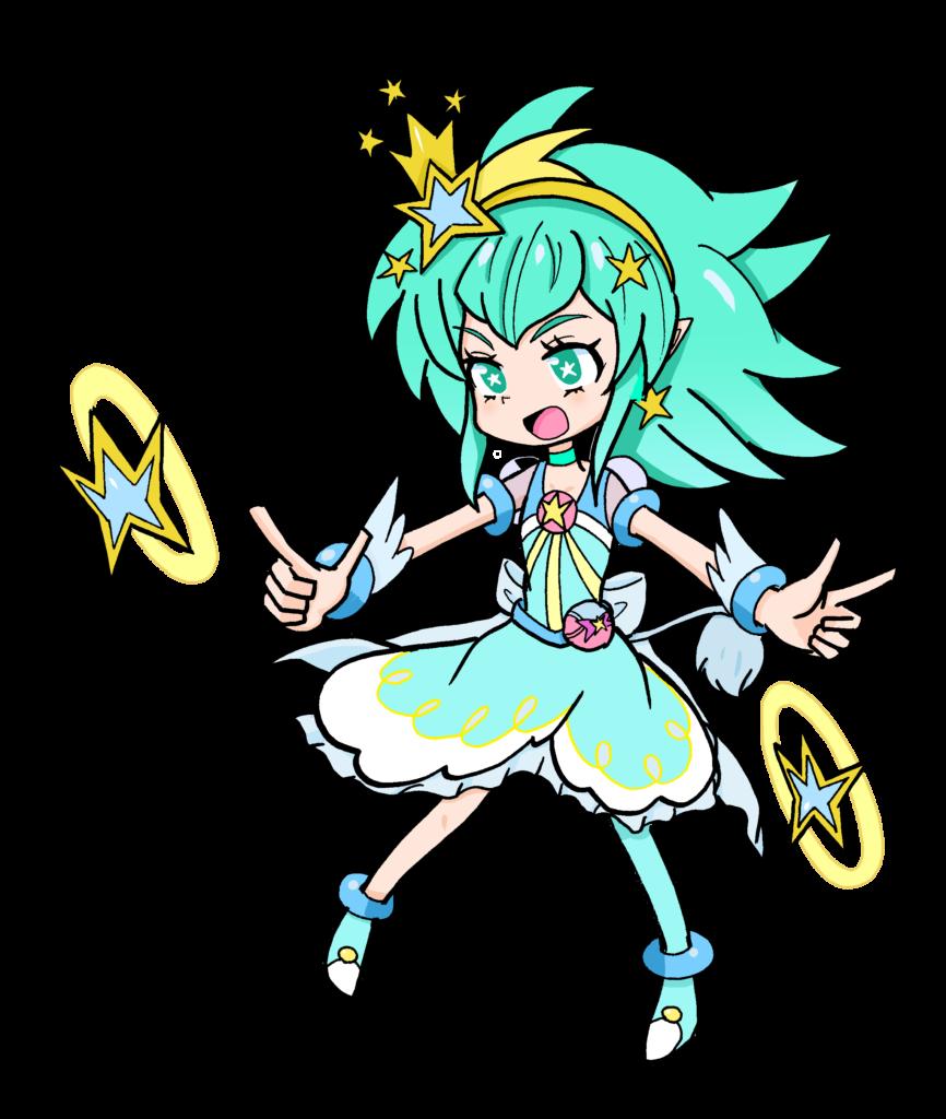 キュアミルキー(獅子座のドレス)