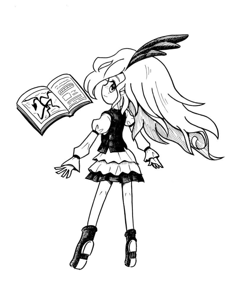 ナゾ魔女【マジョ・リトグラフィカ】